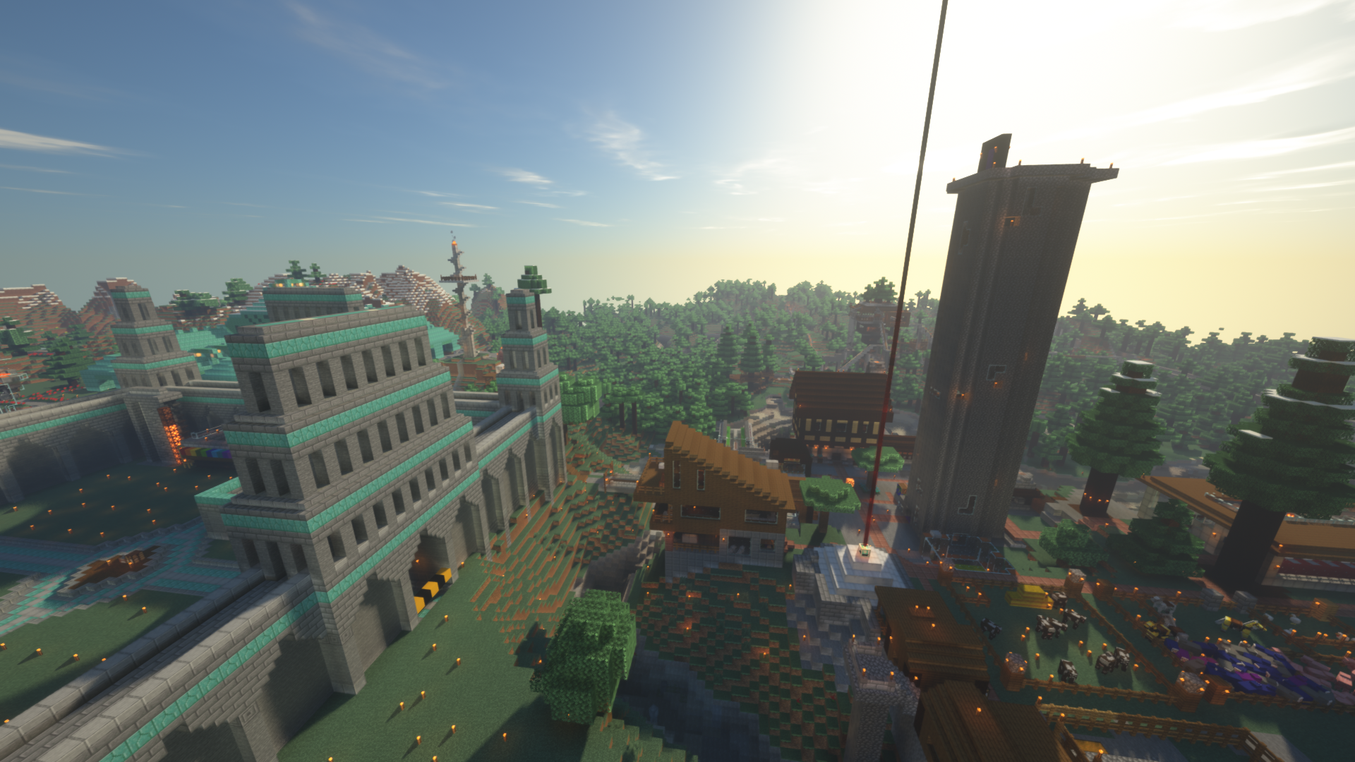Town w/ Shaders